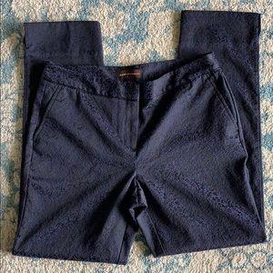 Beautiful Dana Bachman textured dress pants